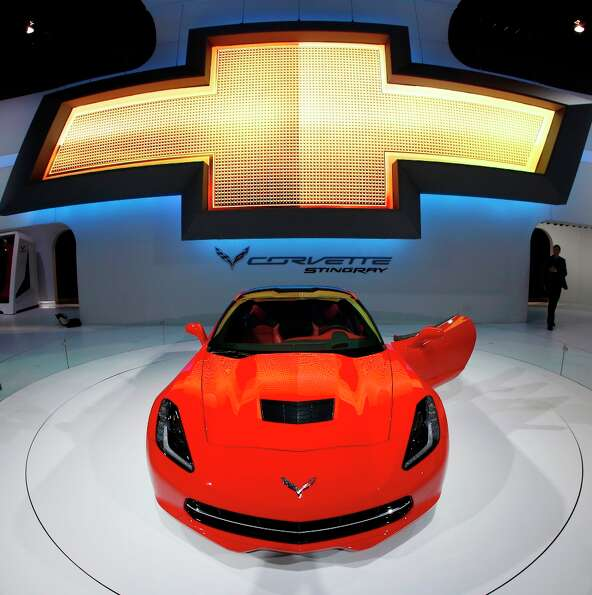 The 2014 Chevrolet Corvette Stingray is revealed at the Chicago Auto Show Thursday, Feb. 7, 2013, in