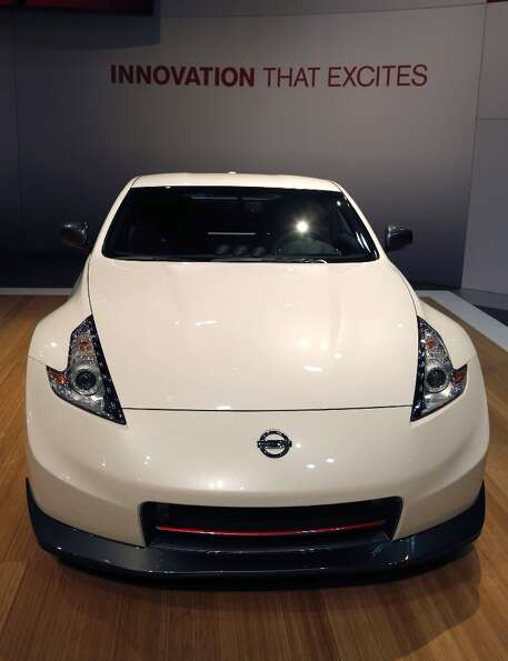 The 2014 Nissan 370Z Nismo  is revealed at the Chicago Auto Show Thursday, Feb. 7, 2013, in Chicago.
