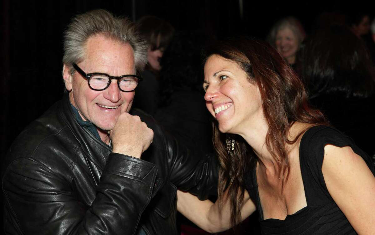 """Magic Theatre's Loretta Greco with Sam Shepard, whose """"A Lie of the Mind"""" previews Wednesday."""