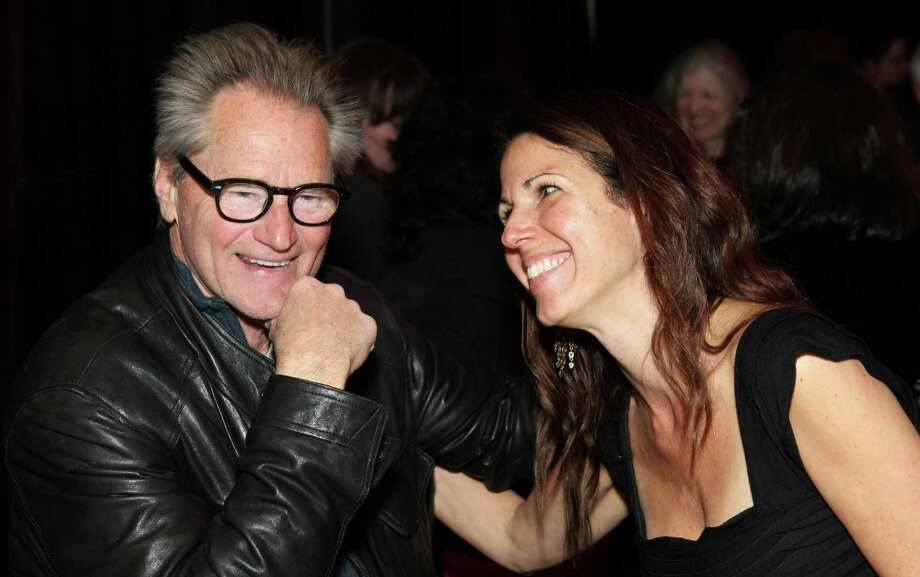 "Magic Theatre's Loretta Greco with Sam Shepard, whose ""A Lie of the Mind"" previews Wednesday. Photo: Jennifer Reiley / Magic Theatre / ONLINE_YES"