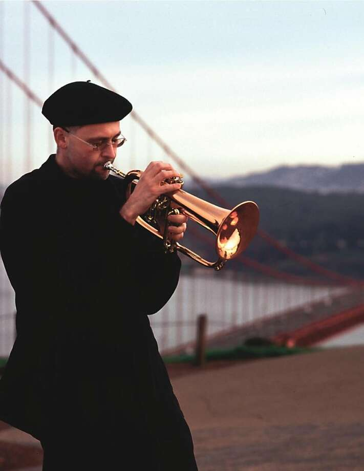 Lyrical flugelhorn player Dmitri Matheny returns to the Bay Area from Phoenix for a gig at Oakland's 57th Street Gallery. Photo: Courtesy Dmitri Matheny