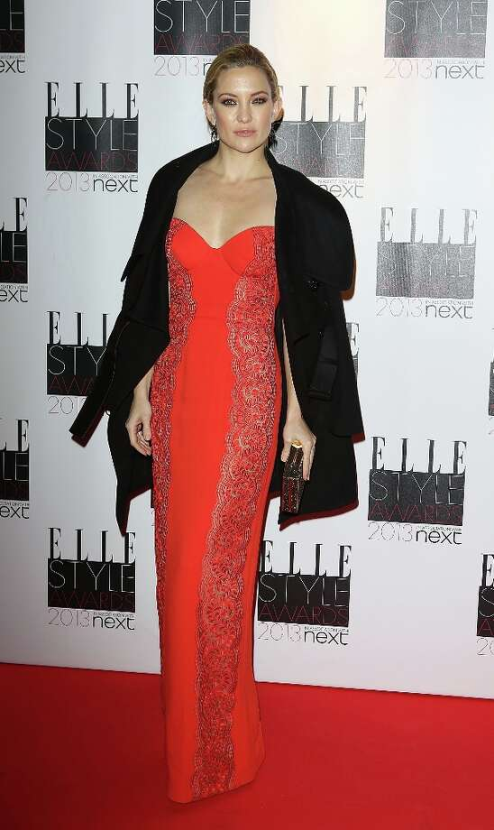 Kate Hudson attends the Elle Style Awards at Savoy Hotel on February 11, 2013 in London, England. Photo: Tim Whitby, Getty Images / 2013 Getty Images