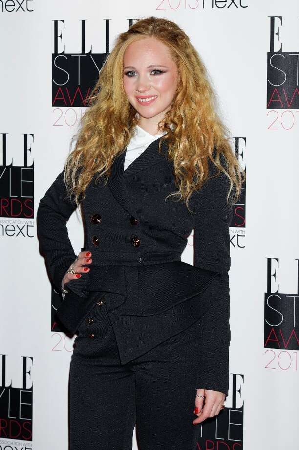 British actress Juno Temple arrives for the Elle Style Awards at a central London venue, Monday, Feb. 11, 2013, in London. (Photo by Jonathan Short/Invision/AP) Photo: Jonathan Short, Associated Press / Invision