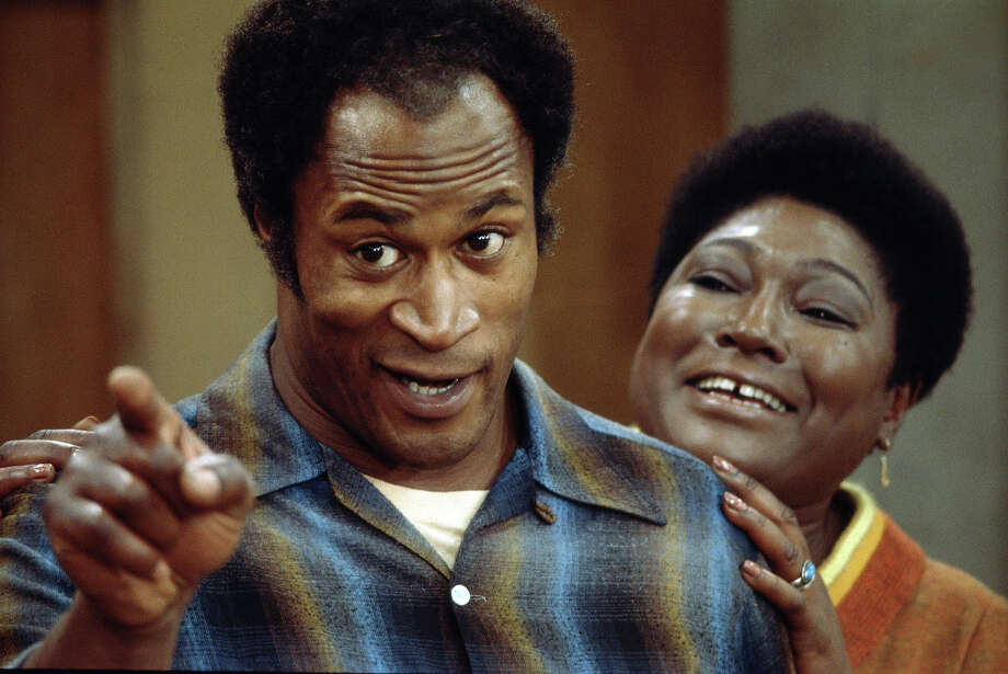 """John Amos, seen here with and Esther Rolle in """"Good Times,"""" played a slightly scarier Major Grant, a special forces commander in """"Die Hard 2: Die Harder.""""  Photo: CBS Photo Archive, Getty Images / 2008 CBS WORLDWIDE INC."""