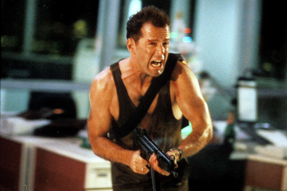 "Bruce Willis, seen here in the original ""Die Hard"" in 1988, is back on the big screen in ""A Good Day to Die Hard."" Photo: Archive Photos, Getty Images / 2012 Getty Images"