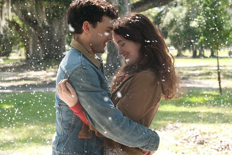 "Choice Movie (Liplock): Alden Ehrenreich and Alice Englert, ""Beautiful Creatures"" Photo: John Bramley, Warner Bros."