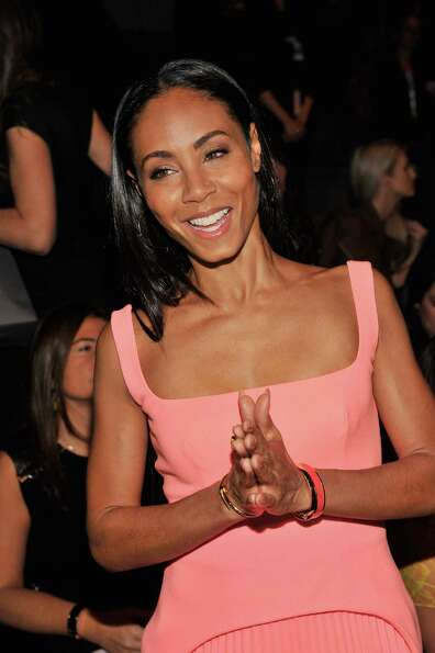 Jada Pinkett Smith attends the Vera Wang Fall 2013 fashion show during Mercedes-Benz Fashion Week at