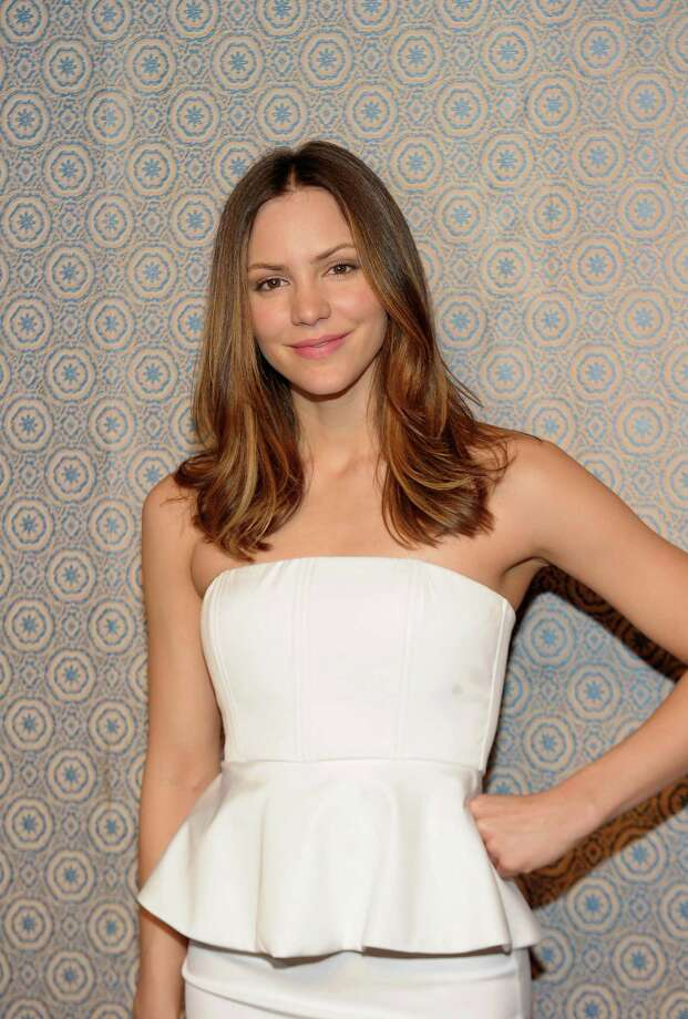 Actress Katharine McPhee attends the Alice + Olivia By Stacey Bendet Fall 2013 fashion show presentation during Mercedes-Benz Fashion Week on February 11, 2013 in New York City. Photo: Michael Loccisano, Getty Images / 2013 Getty Images