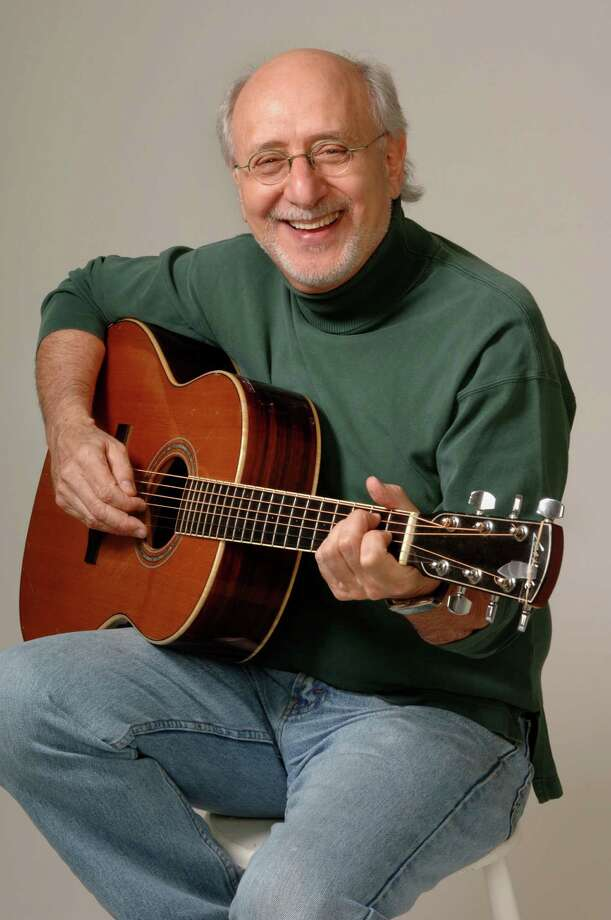 "Peter Yarrow will be signing his new children's book ""I'm in Love with a Big Blue Frog"" at the Barnes & Noble in Westport on Wednesday, Feb. 20 at 6 p.m. Photo: Contributed Photo"