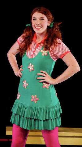 "Francesca McGrory is playing the title role in ""Freckleface Strawberry - The Musical"" at the Downtown Cabaret Theatre in Bridgeport from Feb. 23 to March 30. On March 3 the theater is presenting a special performance for children with autism. Photo: Contributed Photo"