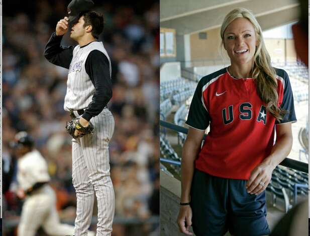 Softball phenom Jennie Finch retired to spend more time with her husband, pitcher Casey Daigle, and their three children. Daigle was signed by the Giants in 2011 and is currently with their AAA affiliate in Fresno.