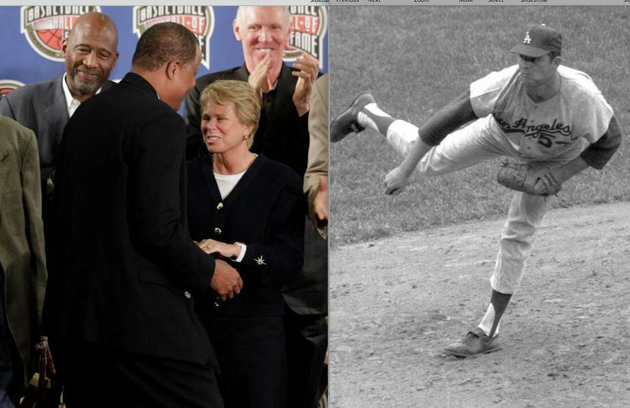 Basketball player Ann Meyers and Dodgers pitcher Don Drysdale were the first sports couple to both be Hall of Famers. Meyers was only the second woman to receive a four-year athletic scholarship to a college and was the only woman drafted by an NBA team. Drysdale retired with a career ERA of 2.95 and over 200 wins.