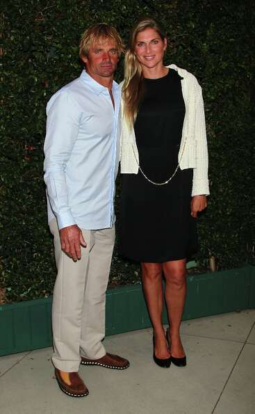 Pro surfer Laird Hamilton and volleyball player Gabrielle Reece wed in 1997 and live the life splitt