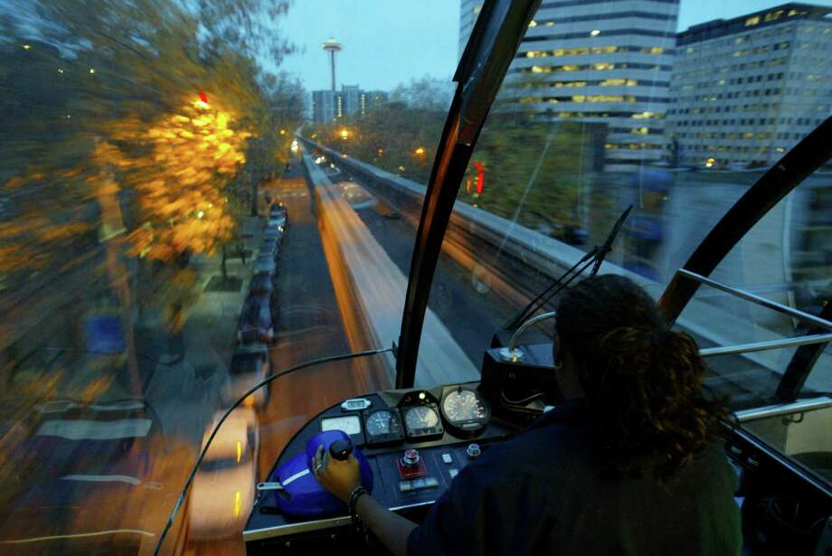 When's the last time you took a ride on the Monorail? Sure, it's a short trip, but it's a fun one. And with a short walk you can find things to do on either end. You could walk from Westlake to any number of fun bars or restaurants, or get off at the Seattle Center and wander around the Space Needle or Seattle Center grounds. Round-trip fare is $4.50 per person, so plan for about $40 if you stop for food or drinks afterward. Photo: Meryl Schenker / Seattle Post-Intelligencer