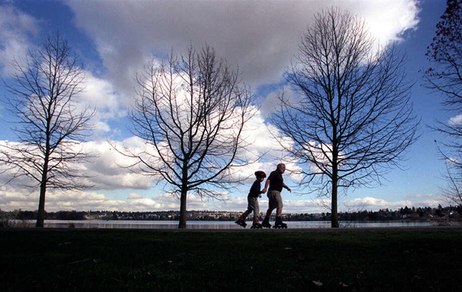 Grab lattes and walk around Green Lake. Keep it simple. You can comfortably walk the lake in just more than an hour, and Green Lake is one of Seattle's best places. Bring about $10 for the lattes.