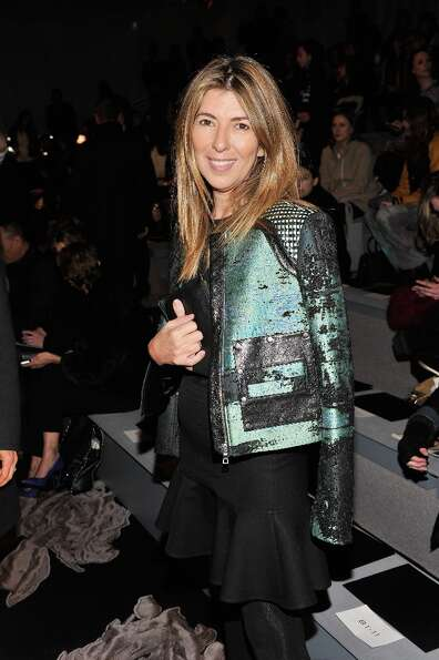 NEW YORK, NY - FEBRUARY 12:  Nina Garcia attends the Vera Wang Fall 2013 fashion show during Mercede