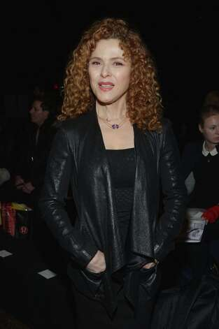 NEW YORK, NY - FEBRUARY 11:  Actress Bernadette Peters attends the Donna Karan New York Fall 2013 fashion show during Mercedes-Benz Fashion Week at 547 W 26th Street on February 11, 2013 in New York City. Photo: Mike Coppola / 2013 Getty Images