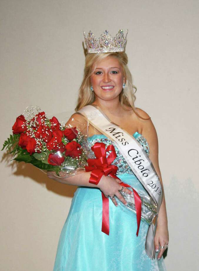 Alyssa Bailey wears the Miss Cibolo sash she received Jan. 26 in the annual Miss Cibolo Scholarship pageant. Photo: Photo Courtesy Of Jennifer Schultes