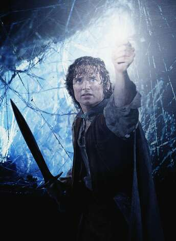 "The ""Lord of the Rings"" trilogy, with Elijah Wood as Frodo, plays today at the Castro Theatre. Photo: Ho, REUTERS"
