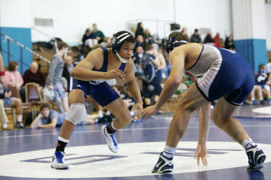 Greenwich native Ryan Whittle, who is completing a post-graduate year at Wyoming Seminary, will wrestle for Divsion I Clarion University next season. Photo: Contributed Photo