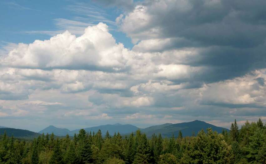 View of some of the Adirondack mountains on Wednesday Aug. 7, 2012, from Newcomb, N.Y. (Philip Kamrass / Times Union archive)