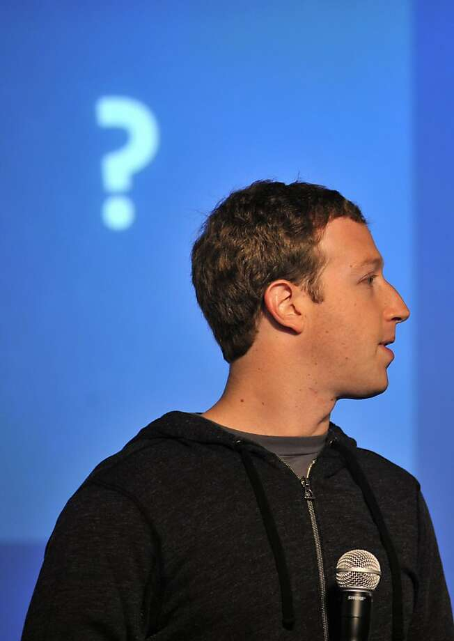 Facebook CEO Mark Zuckerberg will host a fundraiser for Republican New Jersey Gov. Chris Christie at his Palo Alto home, but it remains to be seen how personally involved he will be. Photo: Josh Edelson, AFP/Getty Images