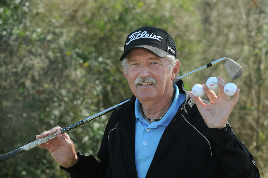 Jim Love has had three holes-in-one over the past three months at Lake Windcrest Golf Club in Magnolia. The 71-year-old retiree has aced four holes in all. Photo: Jerry Baker, Freelance