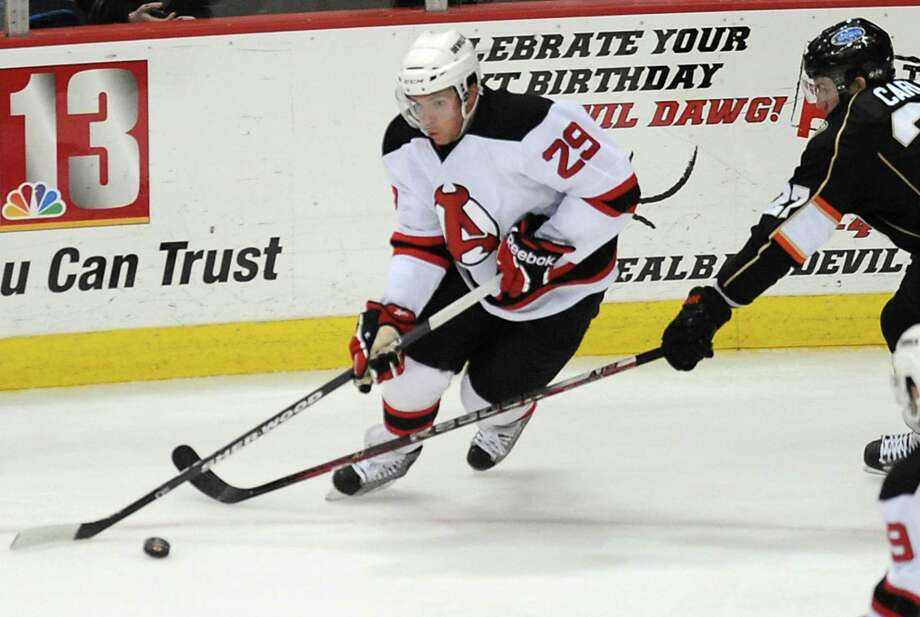 The Springfield Falcons play the Albany Devils at 5 p.m. Saturday at the Times Union Center in Albany. Click here for more information. (Lori Van Buren / Times Union) Photo: Lori Van Buren / 00015748A