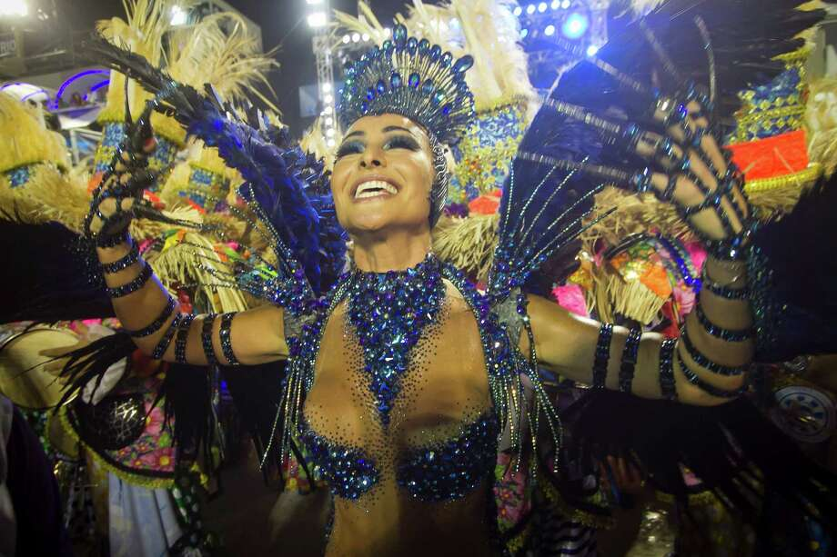 Sabrina Sato of Unidos de Vila Isabel during Carnival 2013 at Sambodrome Marques da Sapucai on February 12, 2013 in Rio de Janeiro, Brazil. Photo: Getty