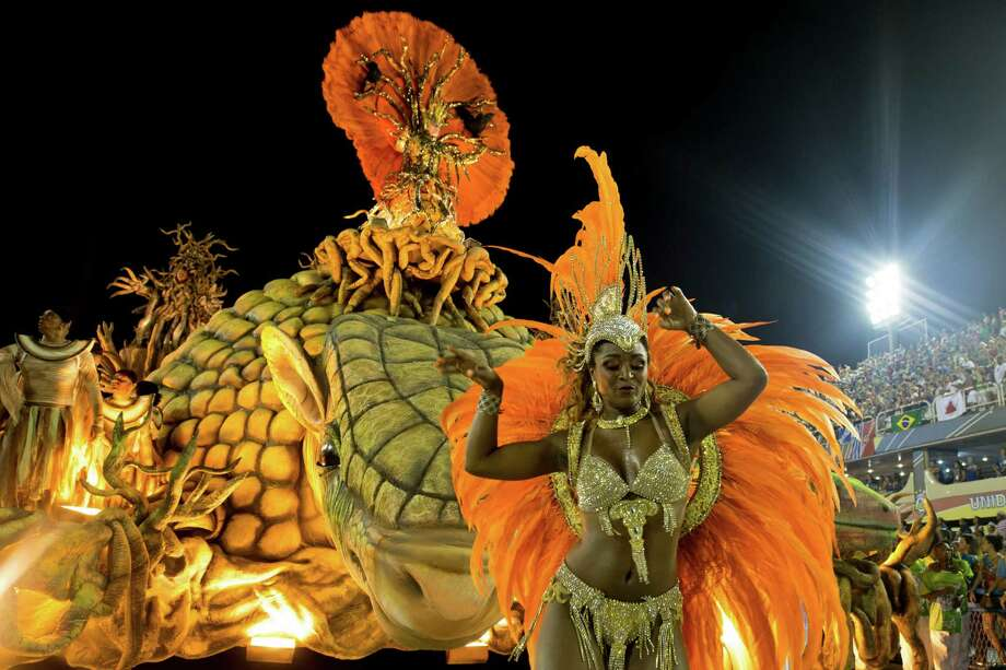 A float of Unidos de Vila Isabel during Carnival 2013 at Sambodrome Marques da Sapucai on February 12, 2013 in Rio de Janeiro, Brazil. Photo: Getty