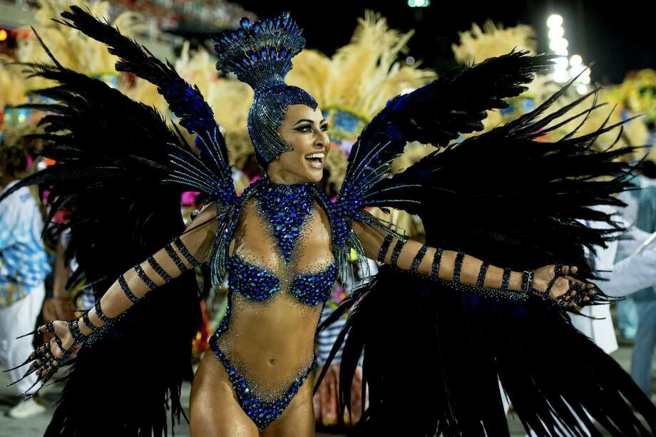 Model Sabrina Sato of Unidos de Vila Isabel during Carnival 2013 at Sambodrome Marques da Sapucai on February 12, 2013 in Rio de Janeiro, Brazil. Photo: Getty