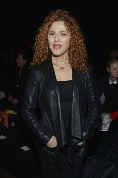 NEW YORK, NY - FEBRUARY 11:  Actress Bernadette Peters attends the Donna Karan New York Fall 2013 fa
