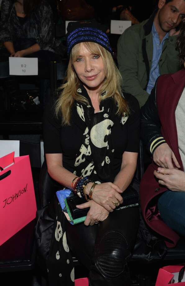 NEW YORK, NY - FEBRUARY 11:  Rosanna Arquette attends the Betsey Johnson Fall 2013 fashion show during Mercedes-Benz Fashion Week at The Studio at Lincoln Center on February 11, 2013 in New York City. Photo: Mike Coppola / 2013 Getty Images
