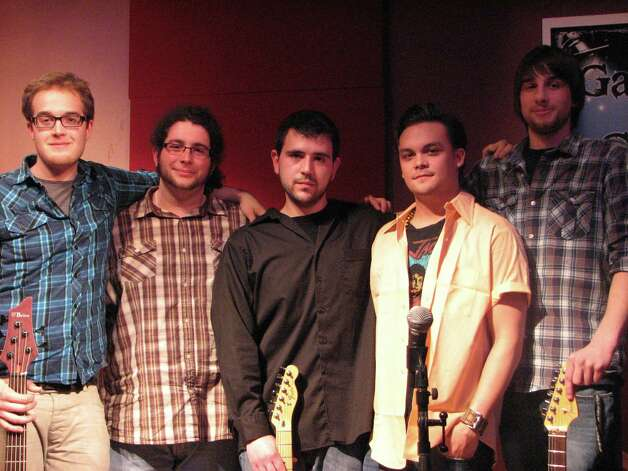 Between the Arctic, winners of the 3rd annual Garage to Glory local band competition sponsored by the Times Union and the College of Saint Rose. (Times Union)
