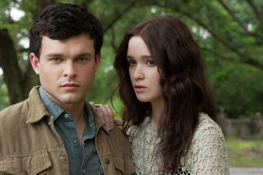 "This film image released by Warner Bros. Pictures shows Alden Ehrenreich, left, and Alice Englert in a scene from ""Beautiful Creatures."" (AP Photo/Warner Bros. Pictures, John Bramley). Photo: John Bramley"