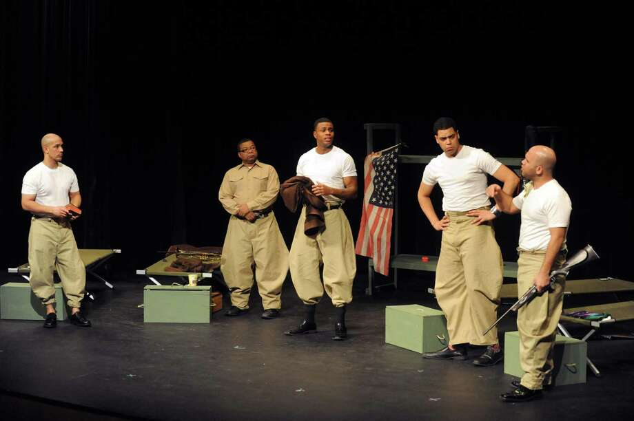 "Soul Rebel Performance Troupe presents ""Camp Logan"" at 7:30 p.m. Friday and Saturday, and 3 p.m. Sunday at Schenectady County Community College. Click here for more information. (Michael P. Farrell/Times Union) Photo: Michael P. Farrell"