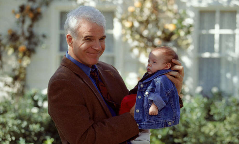In Father of the Bride Part II (1995), Steve Martin plays the part of George Banks and gets a big surprise when he finds out that both his daughter and his wife are pregnant.