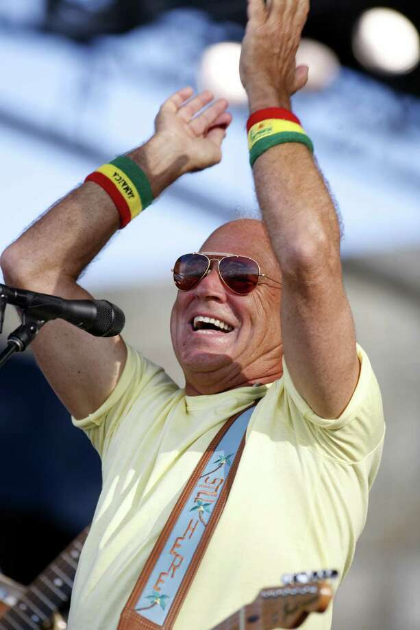 Tickets go on sale Saturday for the May 2 Jimmy Buffett performance at Austin's new Tower Amphitheater. Photo: Associated Press