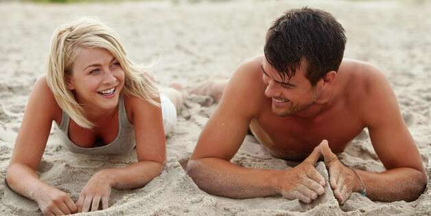 "Julianne Hough and Josh Duhamel star in ""Safe Haven."" Photo: Relativity Media"