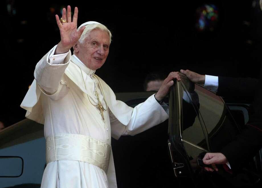 El Vaticano anunció la renuncia del papa Benedicto XVI, efectivo el 28 de febrero. Es el primer pontífice que renuncia desde 1415. Photo: Associated Press
