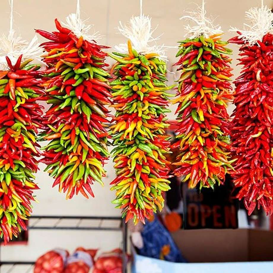 Chiles: Hatch, NM Welcome to the Chile Capital of the World, 190 miles south of Albuquerque. Take home a spicy souvenir anytime, but on Labor Day weekend, 20,000 heat seekers come for chile-eating contests, mariachi, and the Chile Queen crowning at the Hatch Chile Festival. $10/vehicle; hatchchilefest.com  Best time to go: September, for peak chile-harvest season.  Stay: The Historic Pelham House is a late-1800s adobe built on an old Apache campground. From $150; historicpelhamhouse.com  