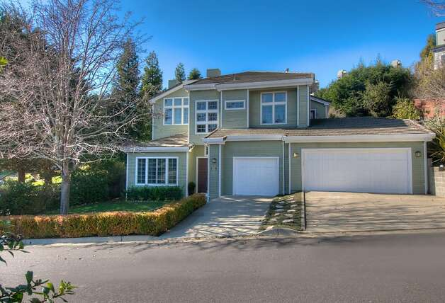 185 Rancho Dr. in Tiburon is a five-bedroom home built in 1995. Photo: Matt McCourtney