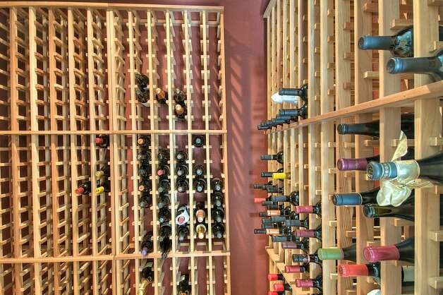 The Tiburon home features a wine cellar. Photo: Matt McCourtney