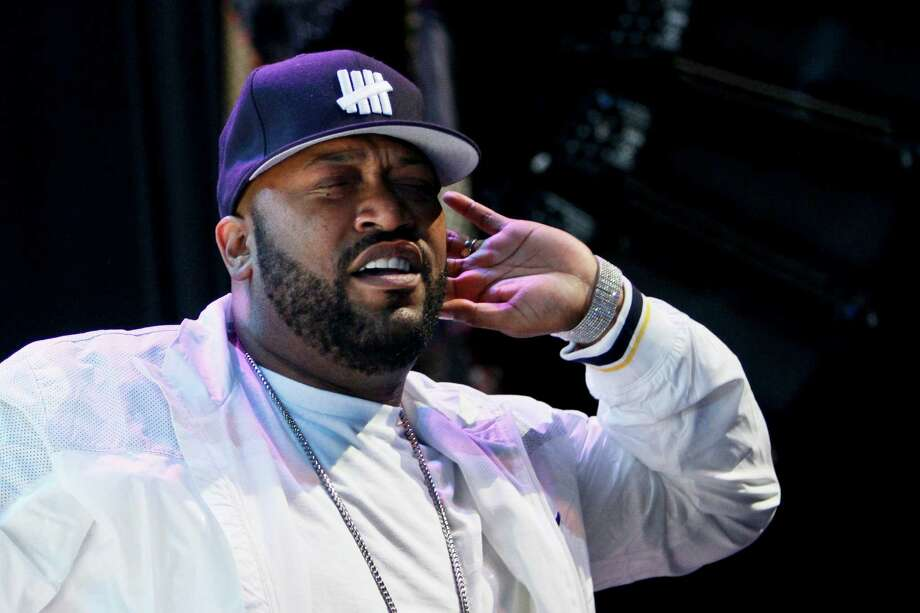 When does Bun B NOT make a live appearance at a show in Houston?  Photo: Michael Paulsen, Staff / Houston Chronicle