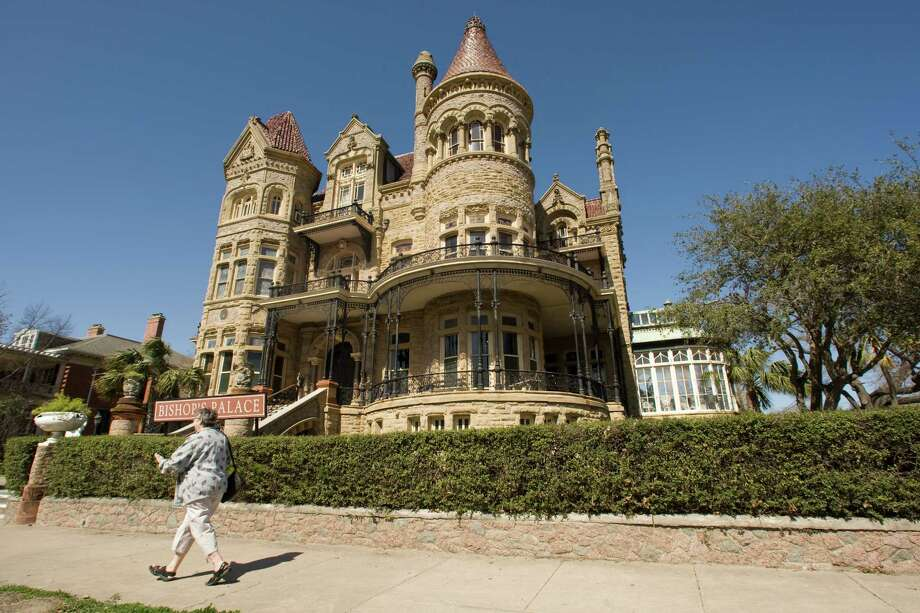 The Bishop's Palace, seen here in a file photo from 2009, was built in 1892 and has been operating as a museum since the early 1960s. Photo: Brett Coomer, Staff / Houston Chronicle