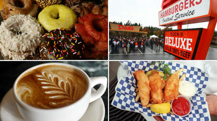 We asked seattlepi.com readers on Facebook to come up with their favorite foods that define Seattle. Here's what they shared, along with a few of our own.