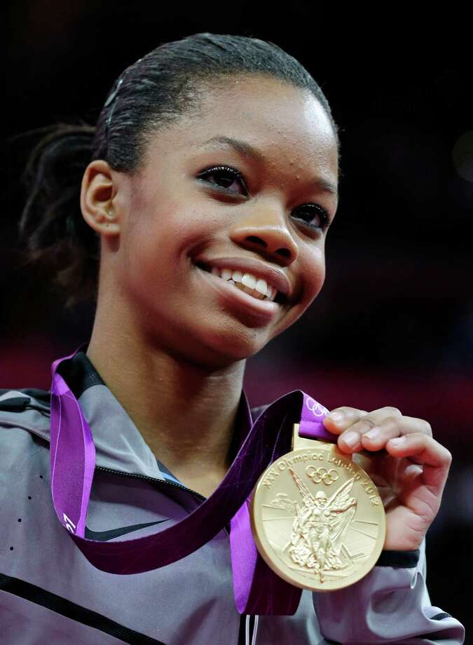 "Gabby Douglas was 16 when she published ""Grace, Gold and Glory: My Leap of Faith."" Photo: Julie Jacobson, STF / AP"