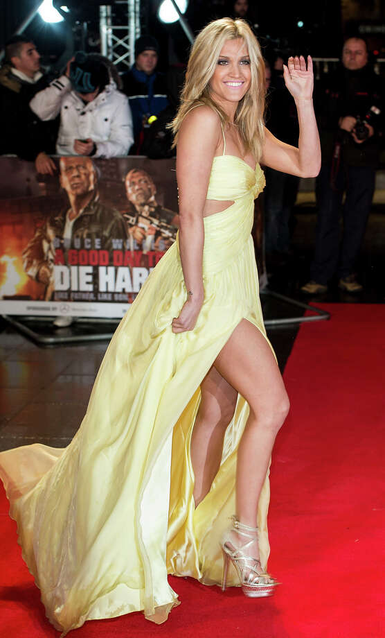 LONDON, ENGLAND - FEBRUARY 07:  Ashley Roberts attends the UK Premiere of 'A Good Day To Die Hard' at Empire Leicester Square on February 7, 2013 in London, England. Photo: Mark Cuthbert, UK Press Via Getty Images / 2013 Mark Cuthbert