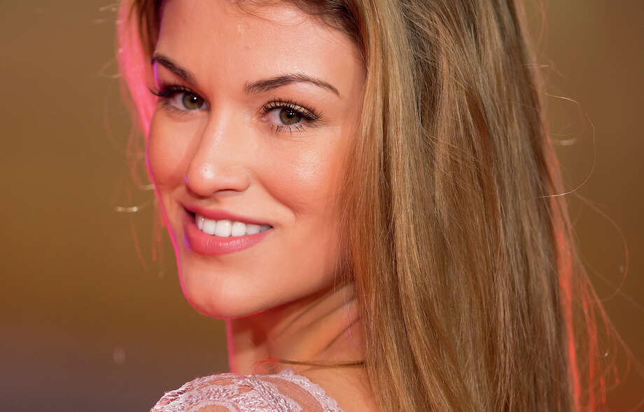 LONDON, UNITED KINGDOM - FEBRUARY 07: (EMBARGOED FOR PUBLICATION IN UK NEWSPAPERS UNTIL 48 HOURS AFTER CREATE DATE AND TIME) Amy Willerton attends the UK Premiere of 'A Good Day To Die Hard' at Empire Leicester Square on February 7, 2013 in London, England. Photo: Indigo, Getty Images / 2013 Indigo