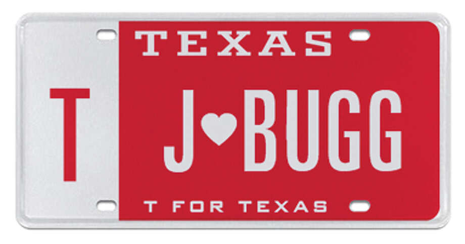J's a love bug. Photo: MyPlates.com